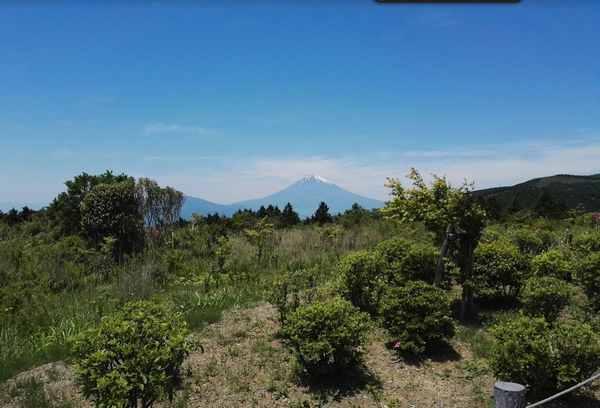 箱根・芦ノ湖スカイライン富士山