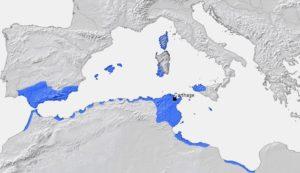 カルタゴの領土