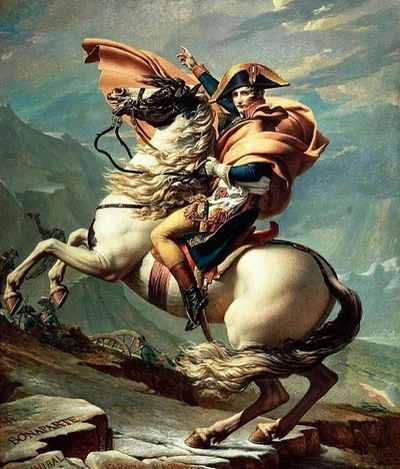 ナポレオンのアルプス越え