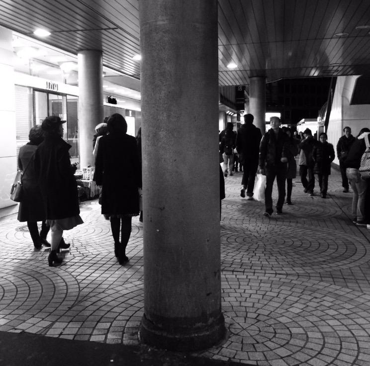 私の志集 - 新宿駅西口の街頭詩人の冬子さん