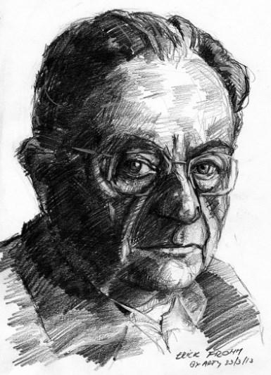 エーリッヒ・フロム肖像