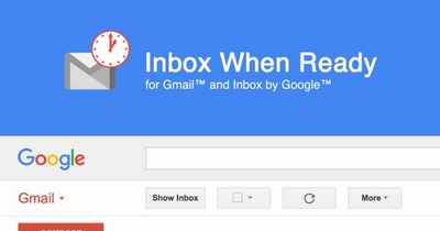 inbox when readyのアプリ