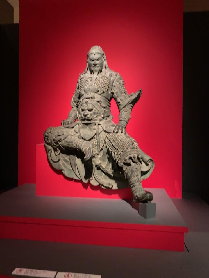 東京国立博物館の三国志展