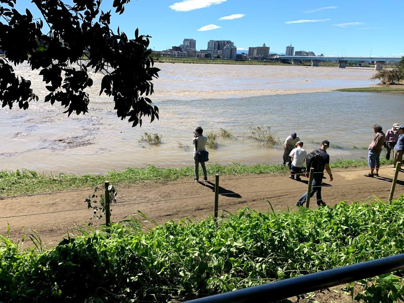 多摩川氾濫で影響が心配された二子玉川スクールでしたが・・・