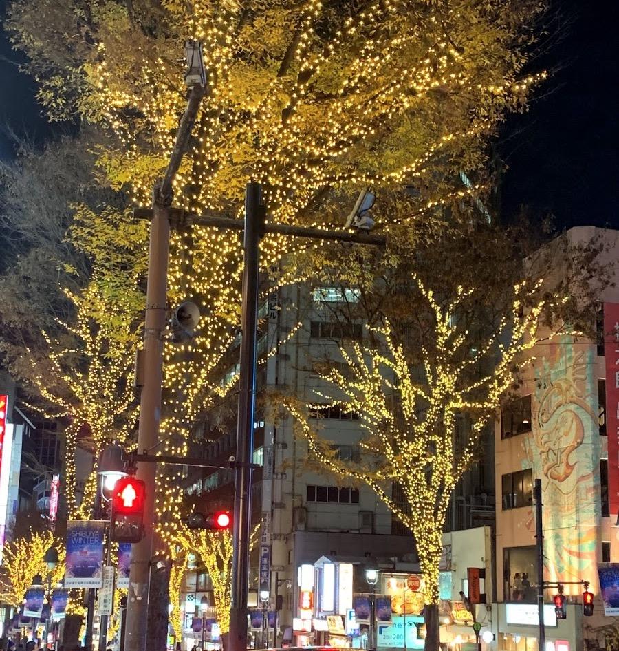 渋谷道玄坂イルミネーション - 2019