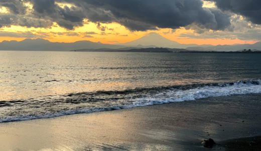 2020年初富士山