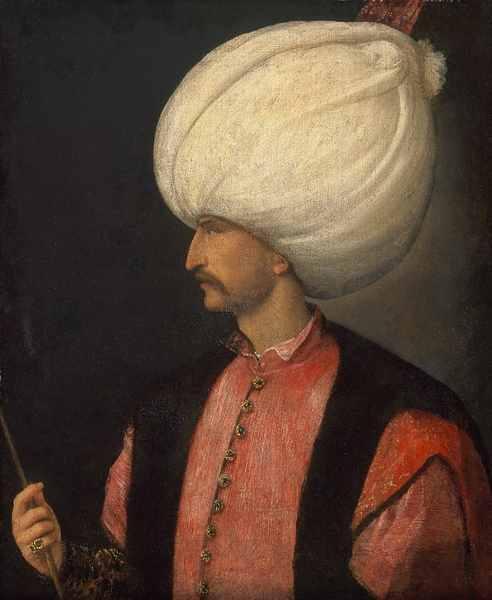 スレイマン1世の肖像画