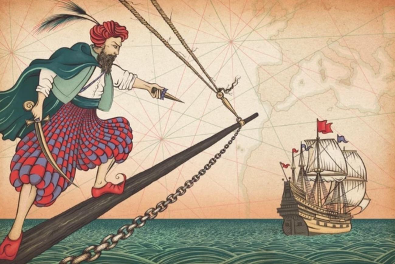 バルバリア海賊ジョン・ウォード