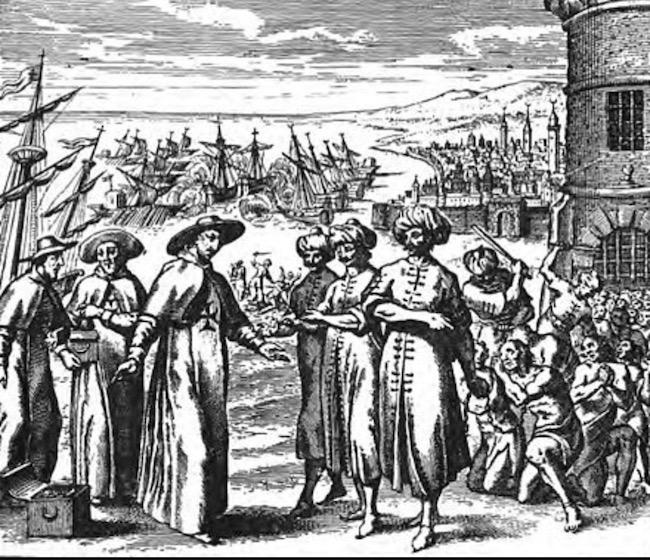 ヨーロッパ人奴隷とバルバリア海賊
