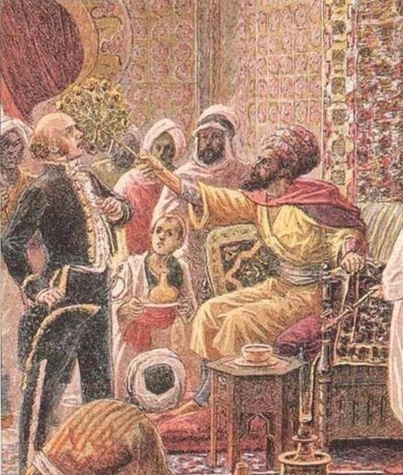 扇の一打事件(1827年)