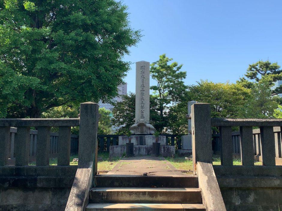 大久保利通の青山霊園のお墓