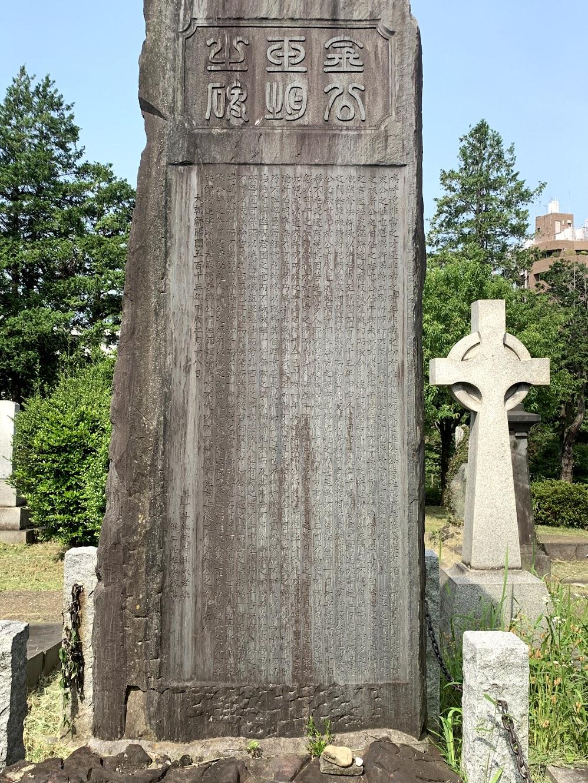 金玉均の墓