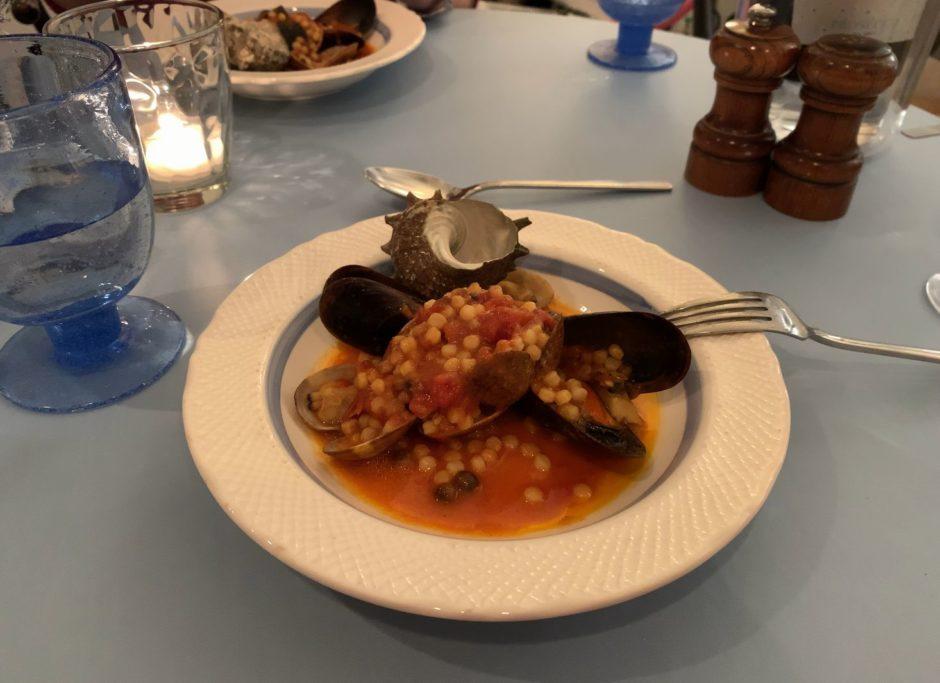 サルデーニャ料理グレコとフレーグラ
