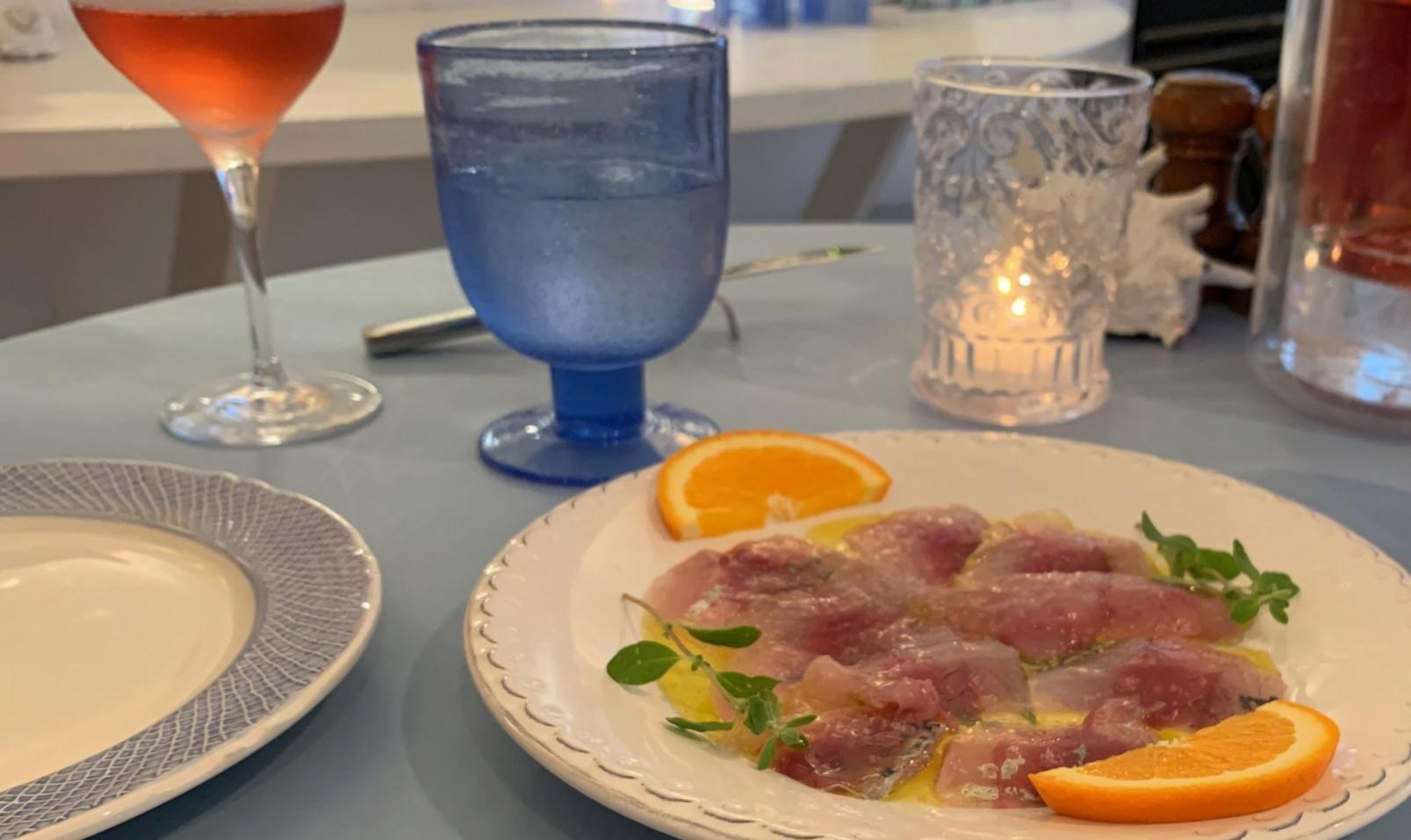 サルデーニャ料理グレコ・カルパッチョ