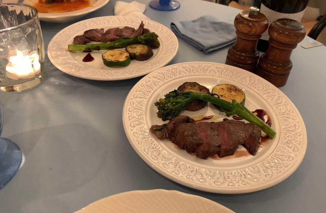 鵠沼グレコ、サルデーニャ料理お肉