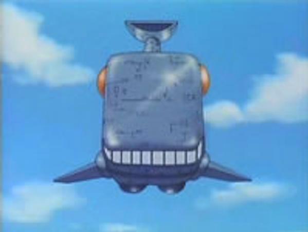 のび太の宇宙小戦争 - クジラ型宇宙船