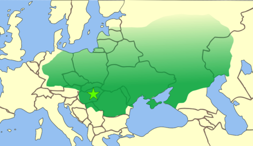 中央アジアのステップから現代のドイツ、ドナウ川からバルト海にまで広がるフン帝国