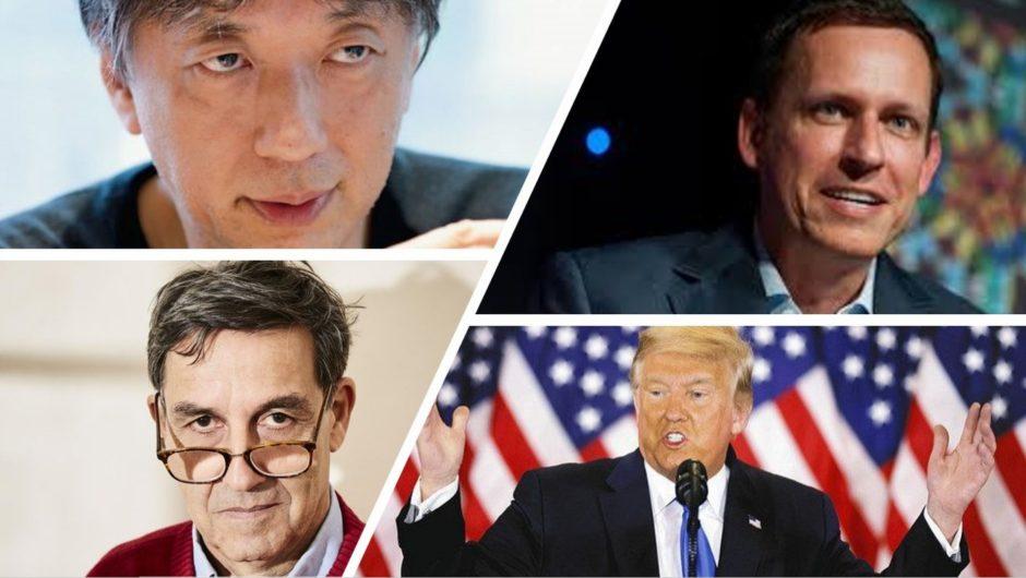 ピーター・ティール、エマニュエル・トッド、宮台真司・・・・経済・知の巨人がトランプの支持者となった背景と理由