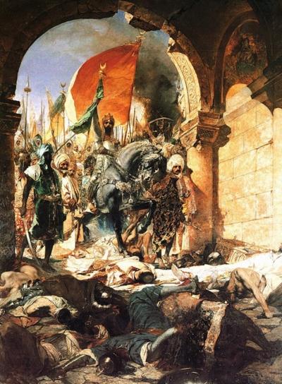 メフメト2世のコンスタンティノープル入城