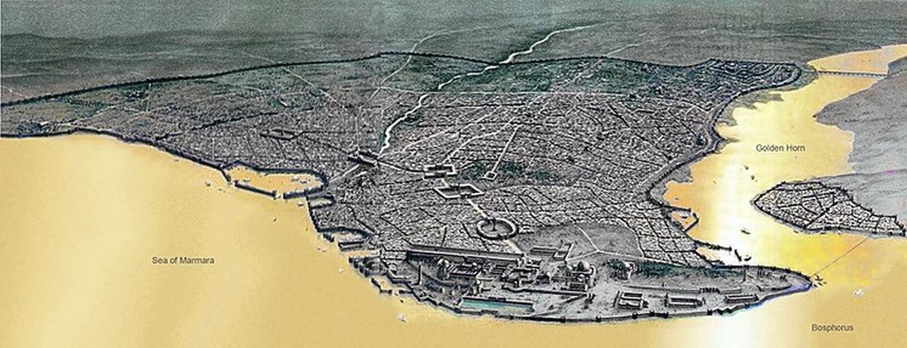 ローマ帝国とコンスタンティノープル