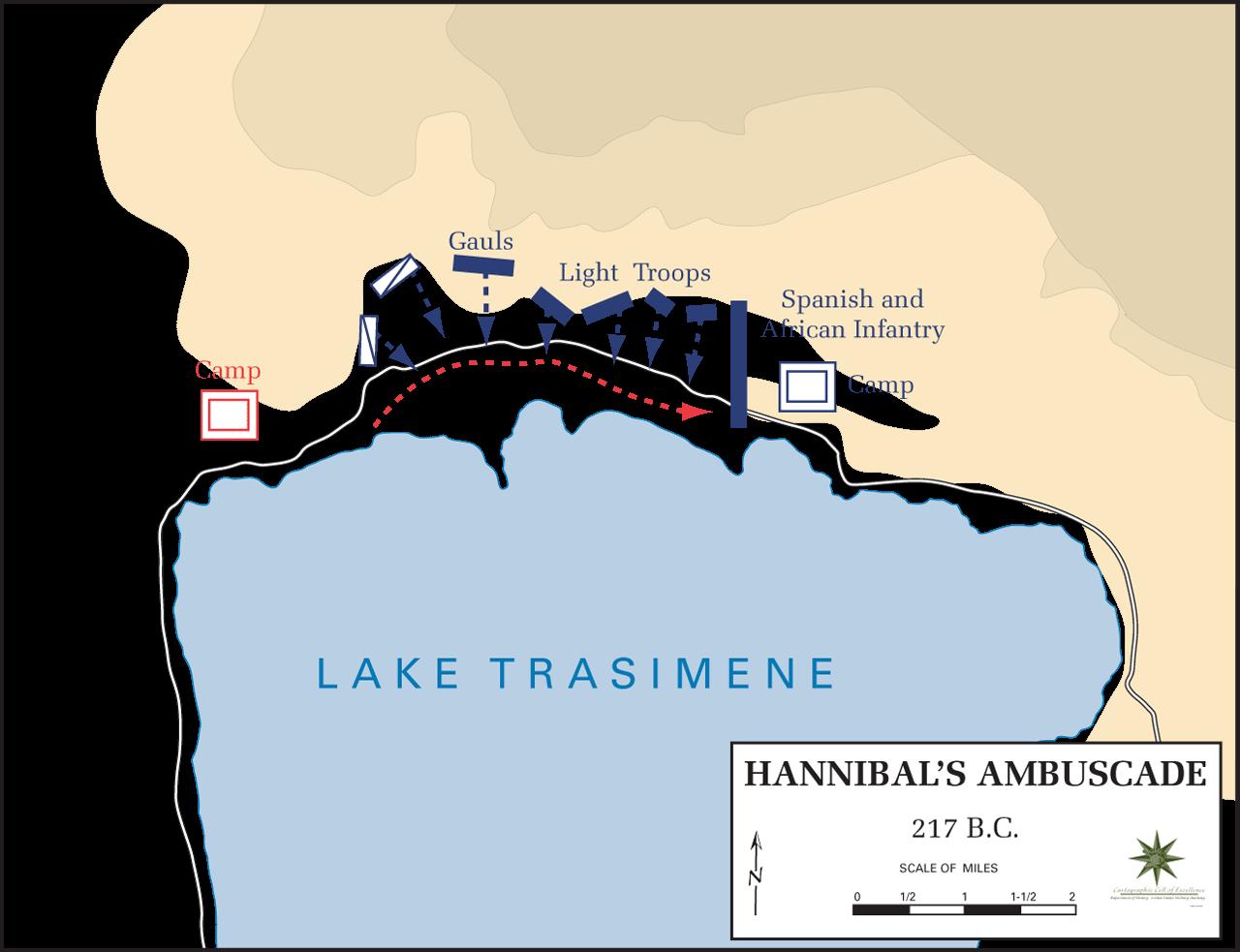 トラシメヌス湖畔の戦い