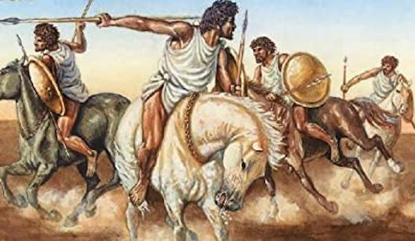 ヌミディア騎兵